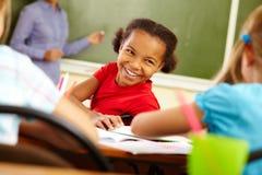 Happy pupil Stock Photo