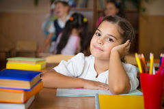 Happy pupils at school Royalty Free Stock Images