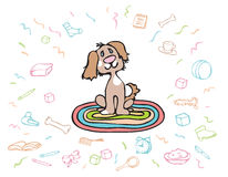 Happy Puppy Royalty Free Stock Photography