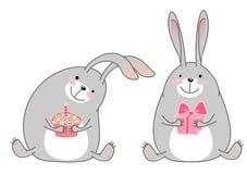 Happy rabbits Stock Photography