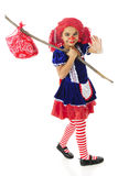 Happy Rag Doll Runaway Royalty Free Stock Images