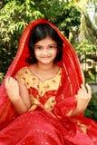 Happy Rajasthani Girl Stock Photography