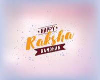 Happy Raksha Bandha Royalty Free Stock Photography