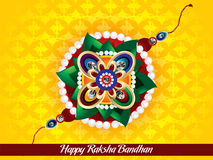 Happy raksha bandhan background Royalty Free Stock Photos