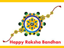 Happy Raksha Bandhan Background. Vector illustration Royalty Free Stock Photo