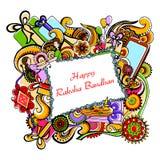 Happy Raksha Banhan Stock Images