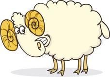 Happy ram royalty free illustration