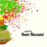 Happy Ram Navami. Royalty Free Stock Images