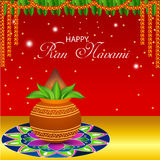 Happy Ram Navami. Stock Photography