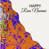 Happy Ram Navami. Royalty Free Stock Photography