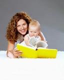 Happy reading Stock Photo