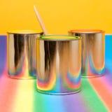 Happy reflections rainbow Royalty Free Stock Image