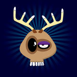 Happy Reindeer Royalty Free Stock Images