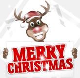 Happy Reindeer Royalty Free Stock Image