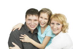 Happy relatoinships in family Stock Photos