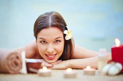 Happy relaxation Royalty Free Stock Image