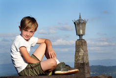 Happy Relaxed Tween Royalty Free Stock Photography