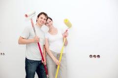 Happy renovation Royalty Free Stock Photo