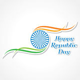 Happy Republic Day banner Royalty Free Stock Photo
