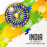 Happy Republic Day Stock Photos
