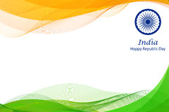 Happy Republic Day of India background Stock Photos