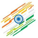 Happy republic day banner Royalty Free Stock Photography