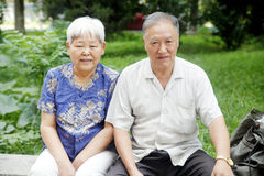 Happy retired couple Stock Image