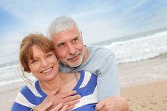 Happy retired people Stock Image