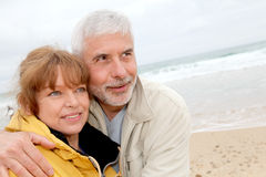 Happy retired people Stock Photography