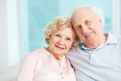 Happy retirement. Portrait of a candid senior couple enjoying their retirement Stock Photo