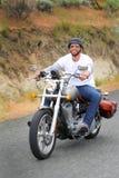 Happy Rider Stock Photo