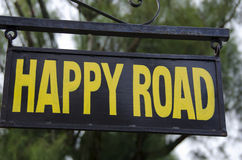 Happy Road Stock Image