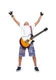 Happy rocker boy Royalty Free Stock Photography