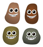 Happy rocks Stock Photo