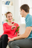 Happy Romantic couple Stock Image