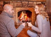 Happy romantic date Stock Photography