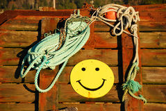 Happy Rope Stock Images