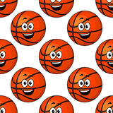 Happy round smiling orange Royalty Free Stock Image