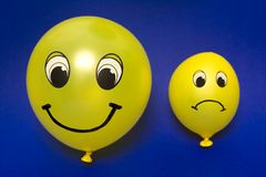 Happy / sad Stock Photos