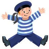 Happy sailor Stock Photo