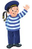 Happy sailor Royalty Free Stock Photo