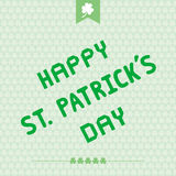 Happy Saint Patrick s Day7 Stock Image