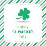 Happy Saint Patrick s Day Card4 Stock Image