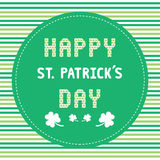 Happy Saint Patrick s Day Card2 Stock Images