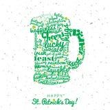 Happy Saint Patrick`s Day Royalty Free Stock Photo