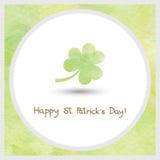 Happy Saint Patrick s Day watercolor1 Royalty Free Stock Photos