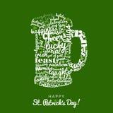 Happy Saint Patrick`s Day Stock Images