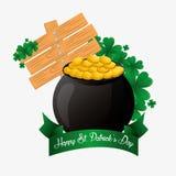 Happy saint patricks day card Royalty Free Stock Photo