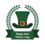 Happy Saint Patricks day design Stock Photography