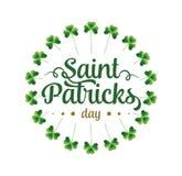 Happy Saint Patricks day Royalty Free Stock Photography